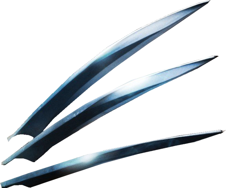 Wolverine claws psd official psds share this image pronofoot35fo Gallery