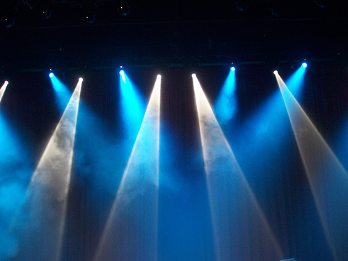 Stage Lights PSD