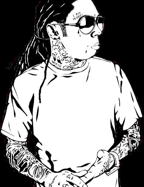 Lil Wayne Dedication 3 Vector (PSD) | Official PSDs