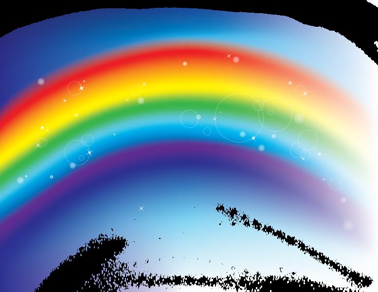 Rainbow psd official psds - Image arc en ciel gratuite ...